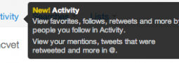 Twitter's Activity Tab and What it Means for Marketers